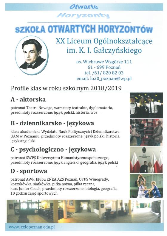 9ab419ec5 promocyjne – XX Liceum Ogólnokształcące im. K. I. Gałczyńskiego